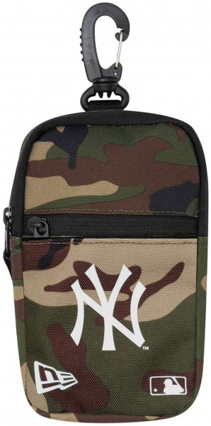 New Era - MLB New York Yankees Mini Pouch Tasche - Camouflage Vorderansicht