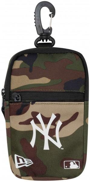New Era - MLB New York Yankees Mini Pouch Tasche - Camouflage Vorderansicht