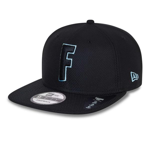 New Era - Fortnite Diamond Era 9Fifty Snapback Cap - Schwarz Ansicht vorne schräg links