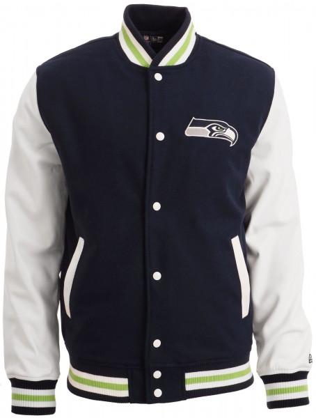 New Era - NFL Seattle Seahawks Varsity Jacke - navy