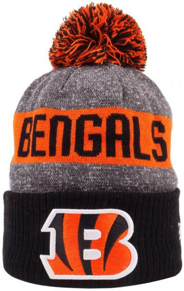 New Era - NFL Cincinnati Bengals Sideline Bobble Beanie