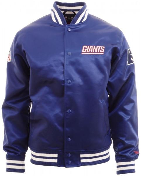 New Era - NFL New York Giants F O R Sateen Bomber Jacke - royal