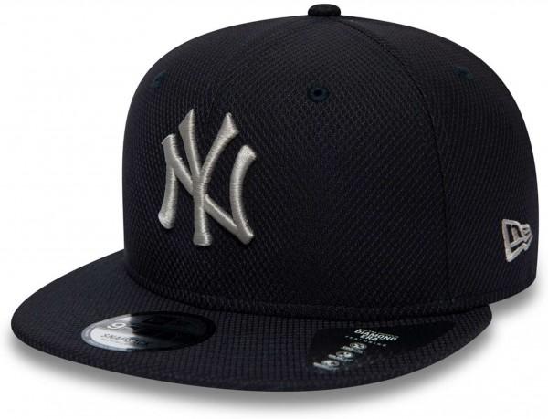 New Era - MLB New York Yankees Diamond Era Essential 9Fifty Snapback Cap - Blau Ansicht vorne links