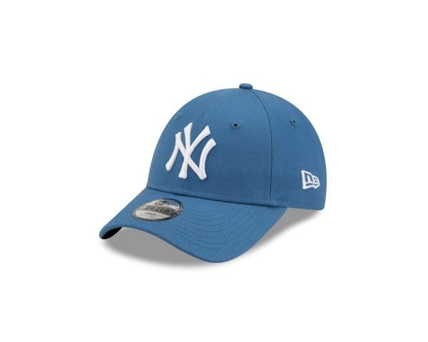 New Era - MLB New York Yankees League Essential 9Forty Kids Strapback Cap - Blau Ansicht vorne schräg links
