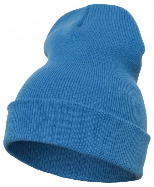 Yupoong Heavy Knit Cuffed Beanie - carolina Blue