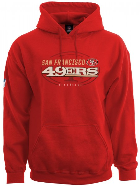 Majestic Athletic - NFL San Francisco 49ers Great Value Hoodie - red