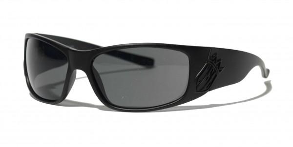 West Coast Choppers - WCC Choppers 4 Life Glasses Sonnenbrille - Schwarz Ansicht schräg von vorne