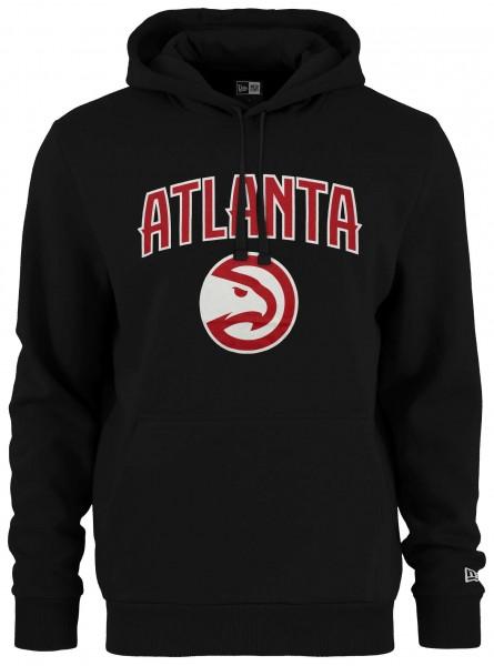 Kapuzenpullover mit gedrucktem Logo des NBA Teams Atlanta Hawks