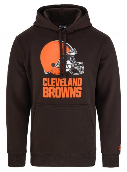 New Era - NFL Cleveland Browns Team Logo Hoodie - Braun