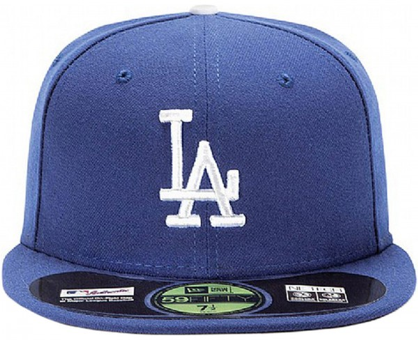 New Era - MLB Los Angeles Dodgers Authentic On-Field 59Fifty Cap - blue