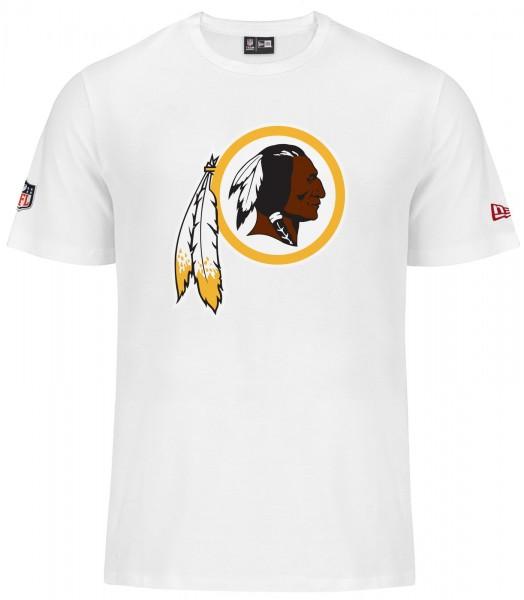 New Era - NFL Washington Redskins Team Logo T-Shirt - white