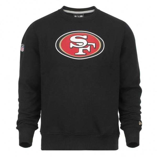 New Era - NFL San Francisco 49ers Team Logo Sweatshirt - black