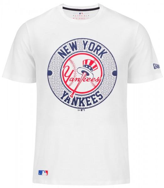 New Era - MLB New York Yankees Street T-Shirt - white