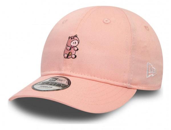 New Era - Disney Toy Story Small Logo Hamm 9Forty Toddler Strapback Cap - Pink Ansicht vorne schräg links
