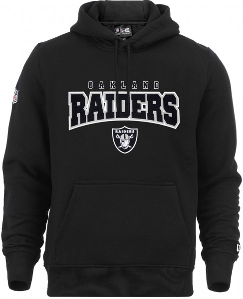 New Era - NFL Oakland Raiders Ultra Fan Hoodie - black