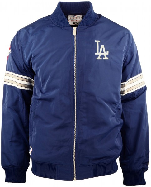 New Era - MLB Los Angeles Dodgers Bomber Jacke - blue