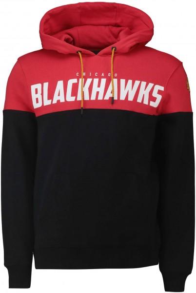 Fanatics - NHL Chicago Blackhawks Cut and Sew OH Hoodie Vorderansicht