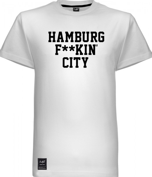 Aight* - HH Fuckin' City T-Shirt - white-black