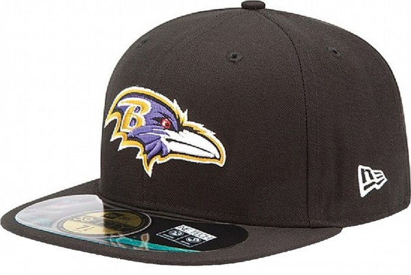 New Era - NFL Baltimore Ravens Authentic On-Field 59Fifty Cap - black