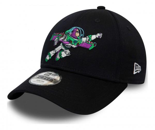 New Era - Disney Toy Story Small Logo Buzz Lightyear Kids Strapback Cap - Pink Ansicht vorne schräg links
