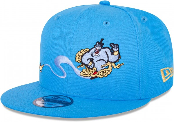 70d5e4eebb2696 New Era - Disney Aladdin Genie 9Fifty Snapback Cap - Blau Ansicht vorne  seite links