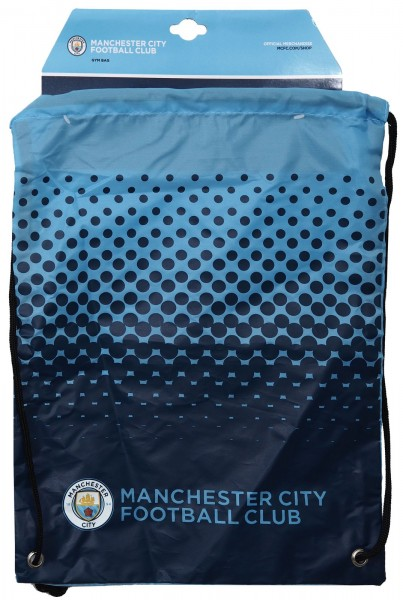 Forever Collectibles - EPL Manchester City Turnbeutel - Blau Frontansicht