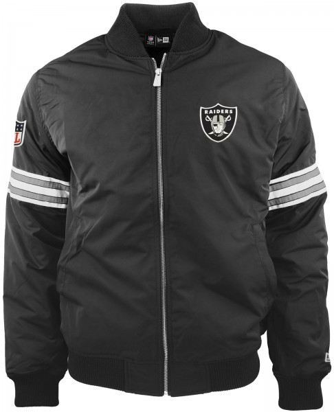 New Era - NFL Oakland Raiders Bomber Jacke - black