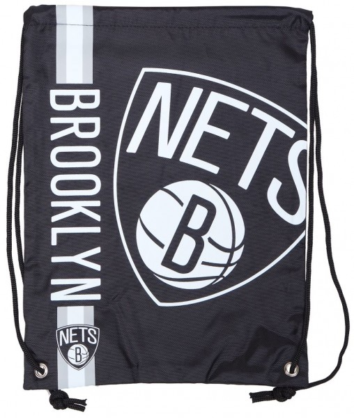 Forever Collectibles - NBA Brooklyn Nets - Cropped Logo Turnbeutel