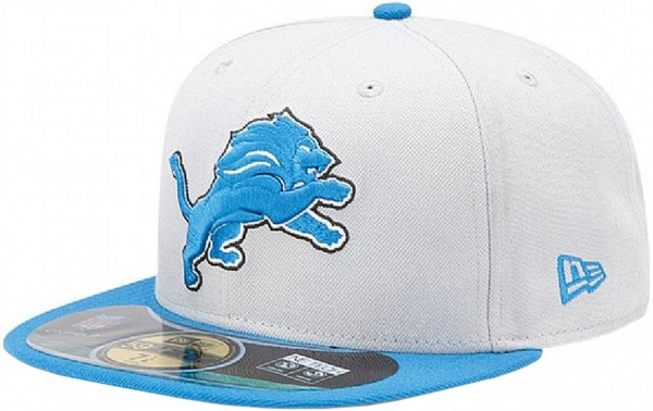 New Era - NFL Detroit Lions Authentic On-Field 59Fifty Cap - grey