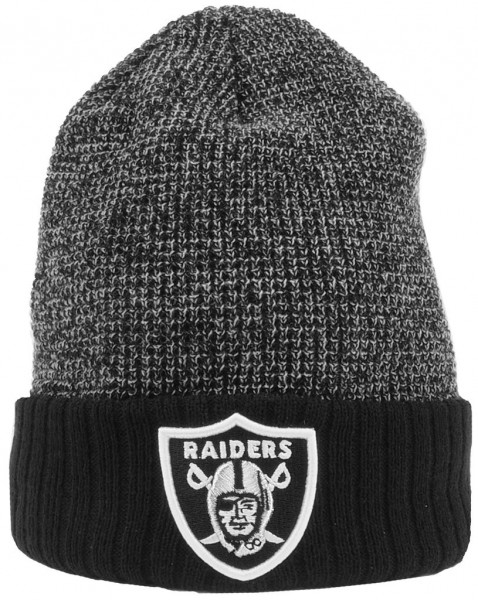 New Era - NFL Oakland Raiders Twist Yarn - Cuff Beanie