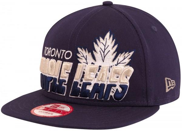 New Era - NHL Toronto Maple Leafs motiv 9Fifty Snapback Cap - Blau