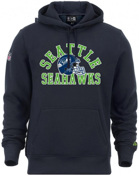 New Era - NFL Seattle Seahawks College Hoodie Hoodie - Blau