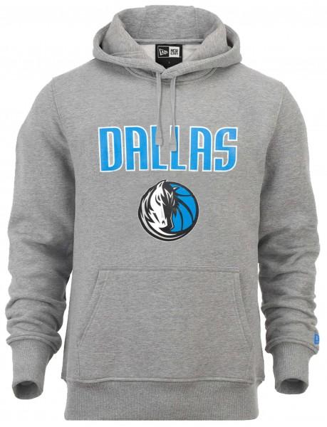 New Era - NBA Dallas Mavericks Team Logo Hoodie - Grau