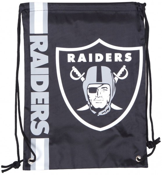 Forever Collectibles - NFL Oakland Raiders - Cropped Logo Turnbeutel