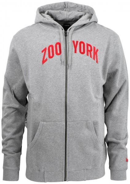 Zoo York - Zoo Zip-Hoodie - Grau Vorderansicht