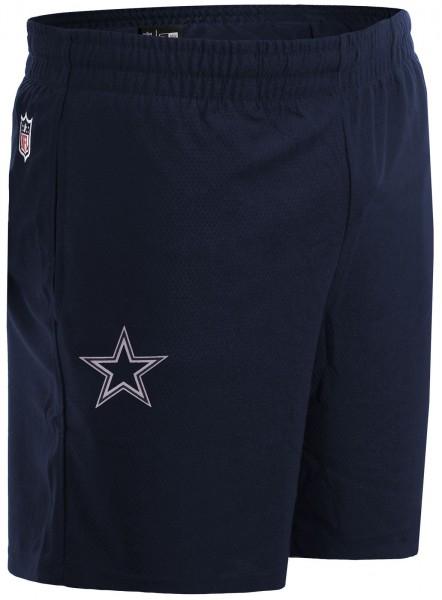 New Era - NFL Dallas Cowboys Dry Era Shorts - Blau