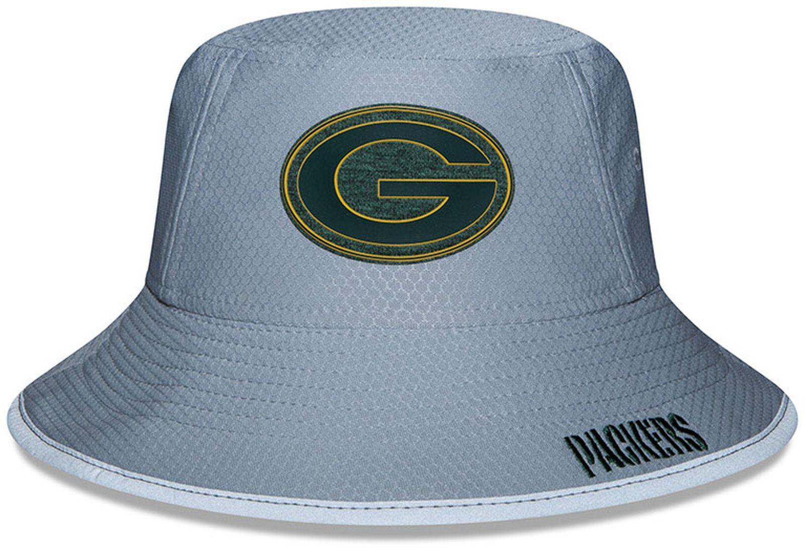 ... Vorschau  New Era - NFL Green Bay Packers On Field 2018 Training Bucket  Hat Hut acd0e3dda12f