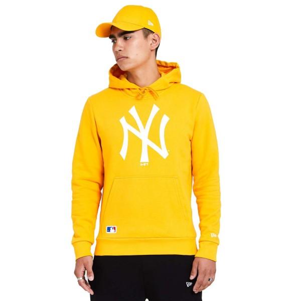 New Era - MLB New York Yankees Seasonal Team Logo Hoodie - Gelb Vorderansicht