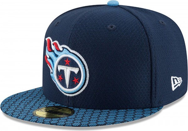 New Era - NFL Tennessee Titans 2017 Sideline 59Fifty Cap - navy