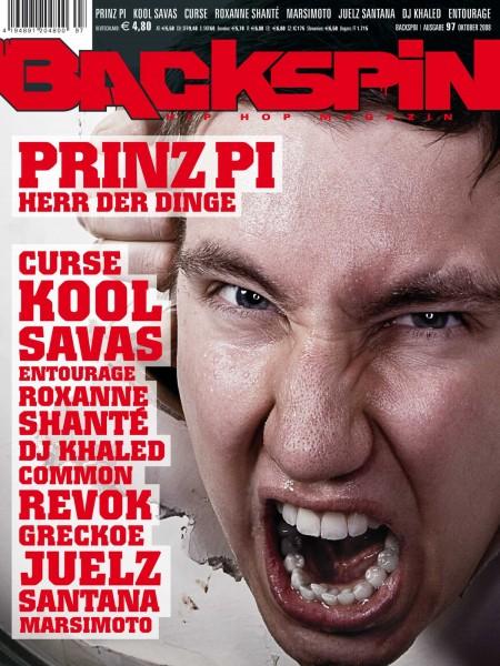 Auf dem Bild ist das Cover zu sehen der BACKSPIN Printausgabe Nummer 97