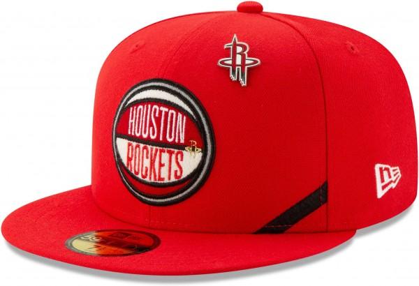 New Era - NBA Houston Rockets 2019 Draft 59Fifty Fitted Cap - Rot