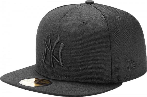 New Era - MLB New York Yankees Black On Black 59Fifty Cap - black