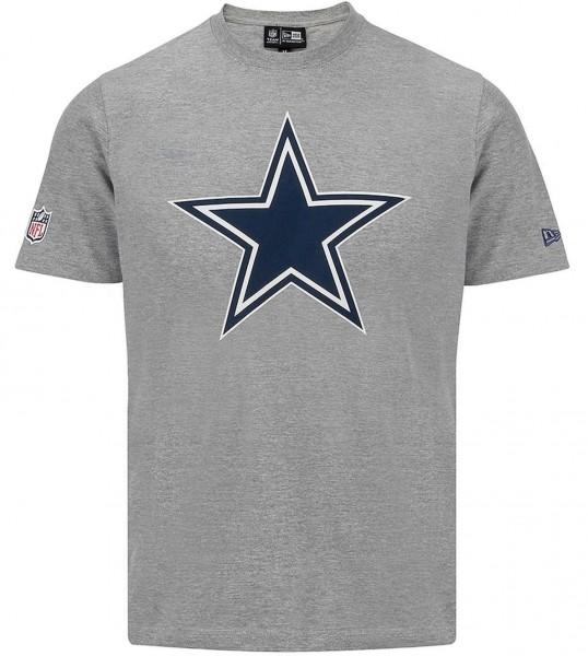 New Era - NFL Dallas Cowboys Team Logo T-Shirt - Grau