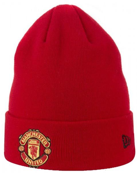 New Era - EPL Manchester United Cuff Beanie - Rot