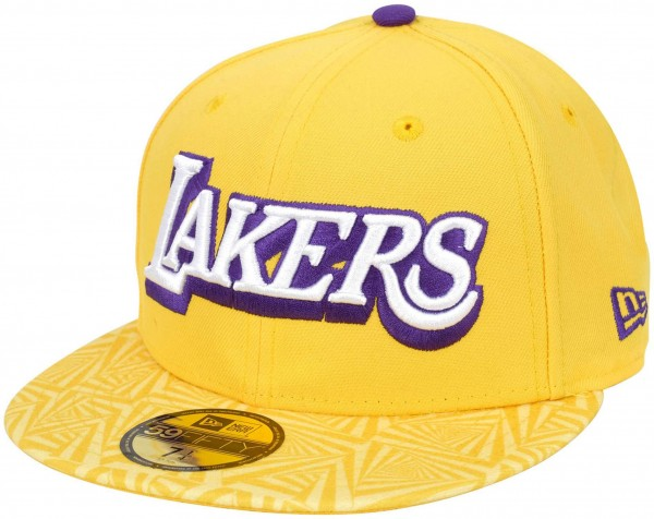 New Era - NBA Los Angeles Lakers 2019 City Series 59Fifty Fitted Cap - Gelb