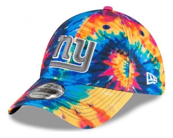New Era - NFL New York Giants 2020 Crucial Catch 39Thirty Stretch Cap - Mehrfarbig Anischt vorne schräg links