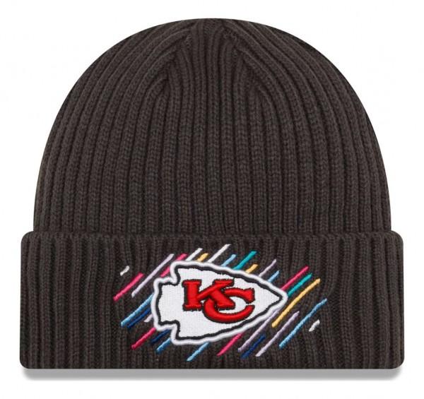 New Era - NFL Kansas City Chiefs 2021 Crucial Catch Knit - Grau Vorderansicht