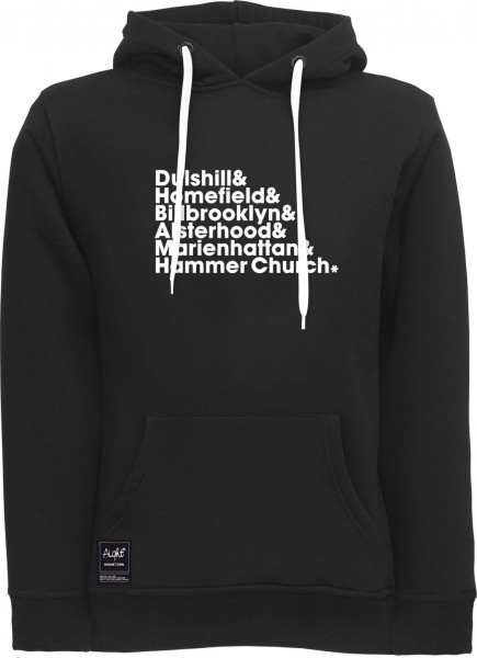 Aight* - HH-District V4 Hoodie - black-white