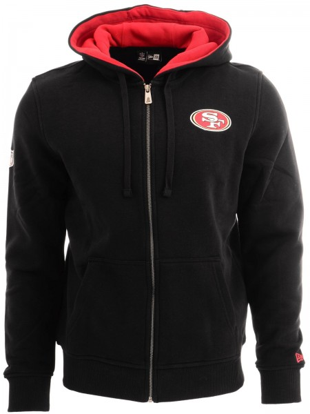 New Era - NFL San Francisco 49ers Full Zip Hoodie - black