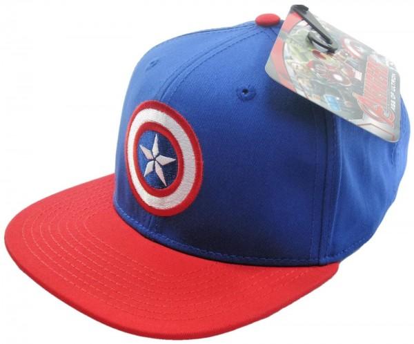 Marvel - Avengers Captain America Contrast Snapback Cap - Blau